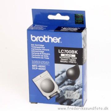 Brother LC700 sort blæk (udløbsdato 2008)