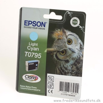 EPSON T0795 light cyan (udløbsdato 2010)