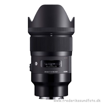 Sigma 35mm f/1.4 DG Art Sonu E-mount