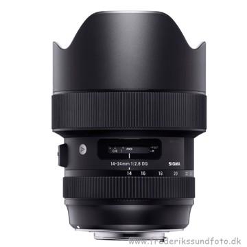 """Sigma 14-24mm f/2.8 DG HSM Art til Nikon """"DEMO"""""""
