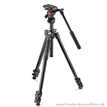 Manfrotto MK290LTA3-V fotostativ m/Videohoved