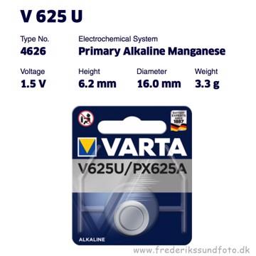 VARTA V 625 U 1,5 Volt