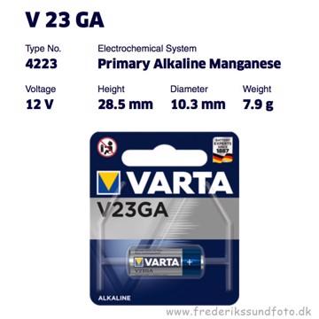 Varta V23GA 12V Batteri
