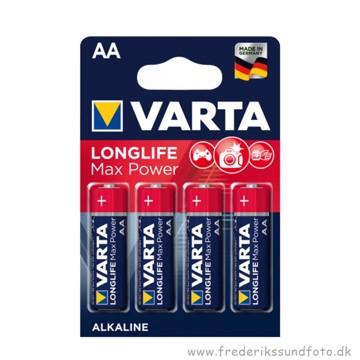 Varta AA MN1500 Longlife Max Power batteri 4 pak