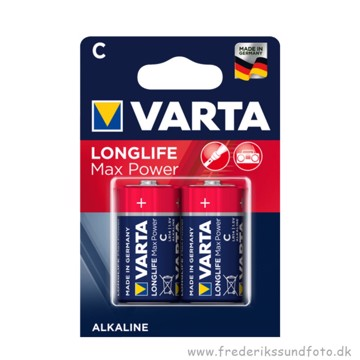 Varta C /  LR14  Longlife Max Power batteri 2 pak