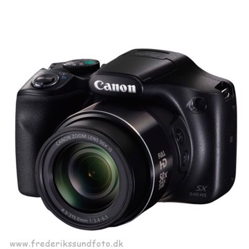 Canon Powershot SX540HS Sort