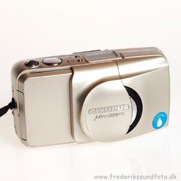 BRUGT Olympus Mju ZOOM 115 / Analog kamera