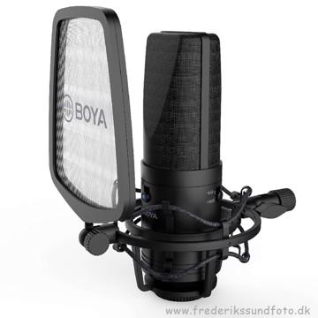 BOYA BY-M1000 Large Diaphragm Condenser Microfone