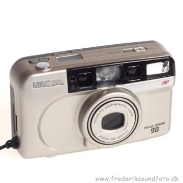 BRUGT Minolta Riva Zoom 90 - Analog kamera