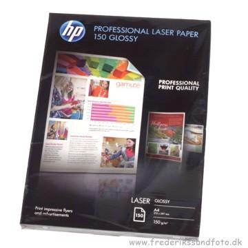 HP Professional Laser Fotopapir Blank 150g 150 ark