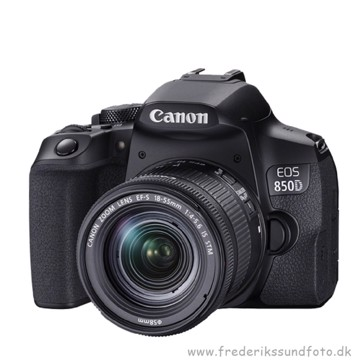 Canon EOS 850D m/18-55mm IS STM