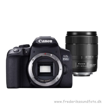 Canon EOS 850D m/18-135mm IS USM