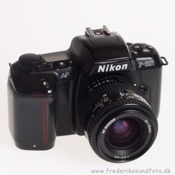 BRUGT Nikon F-601 m/35-70mm