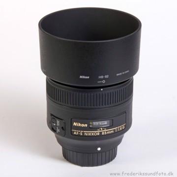 Nikon 85mm f:1,8G  AF-S
