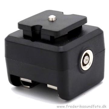 Caruba Hotshoe adapter til X stik