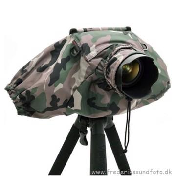 DELUXE Camera raincover V2 Camouflage