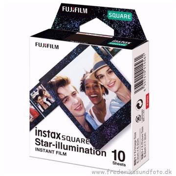 Fuji Instax Square film Star-illumination 10 stk
