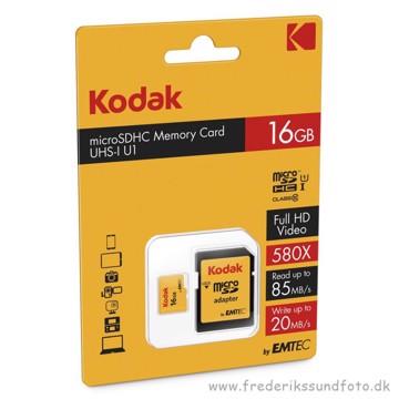 Kodak 16GB Micro SDHC Full HD video