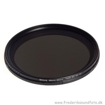 Bilora Vario ND 2x - 400x 86mm filter