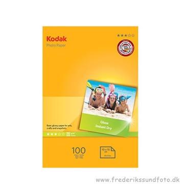 Kodak Gloss Foto papir 100 stk. 10x15 180g.