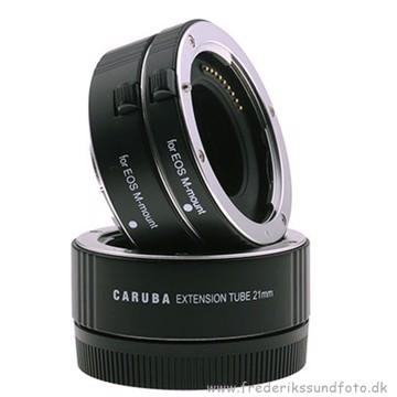 Caruba Macro Extension 3 stk. Mellemringe Canon M
