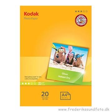 Kodak Gloss Foto papir 20 ark A4 180g