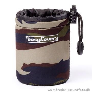 Easycover Objektivtaske Small Camouflage 10cm