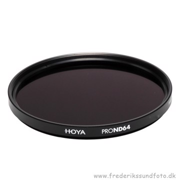 Hoya 58mm Pro ND64 Filter ( 6 stop )