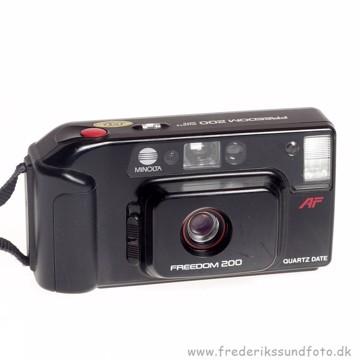 BRUGT Minolta Freedom 200 Analog kamera