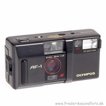 BRUGT Olympus AF-1 Analog kamera