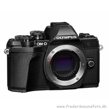 Olympus E-M10 Mark III kamerahus sort